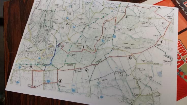 Valentines Map